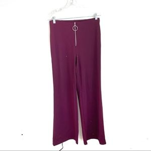 🍍 3 for $25 F21 Zip Up Wide Leg Trousers